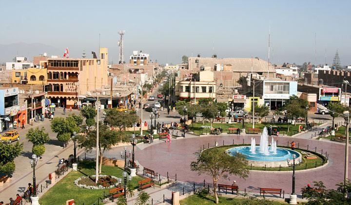 23 de enero | Aniversario de la provincia de Nasca. Foto: Plaza de Armas de Nasca