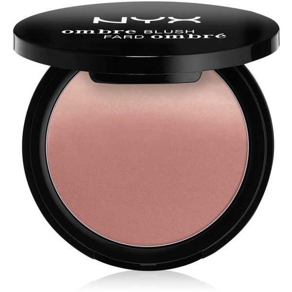 Nyx Ombre Blush found on Polyvore featuring beauty products, makeup, cheek makeup, blush, mauve me, nyx and nyx blush