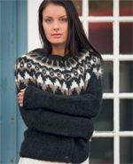 Fra Oddný S. Jónsdóttirs inspirerende strikkebog 'Islandsk Strik', bringer vi her opskriften på en skøn islandsk sweater.