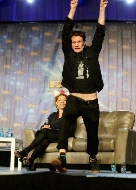 What on earth is #MattSmith upto?   #DoctorWho