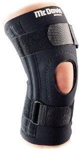 McDavid Patella Knee Support, Medium (14-15 quot;) by McDavid. $18.59. Helps relieve symptoms of Chondromalacia, patellar. Lends minor ligament support. 2 medial and 2 lateral spring steel stays. 2-sided nylon. Long 3/16-inch thick neoprene sleeve. Superior padded buttress relieves pressure from patella for added supportHelps relieve symptoms of chondromalacia, patellar subluxation, tendonitis and offers minor ligament support3/16in thick, 100% latex-free Neoprene (CR) p...