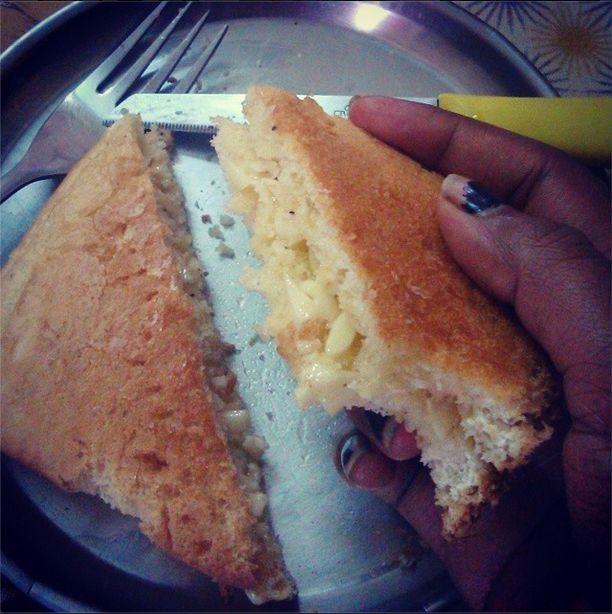 my version of Garlic toast