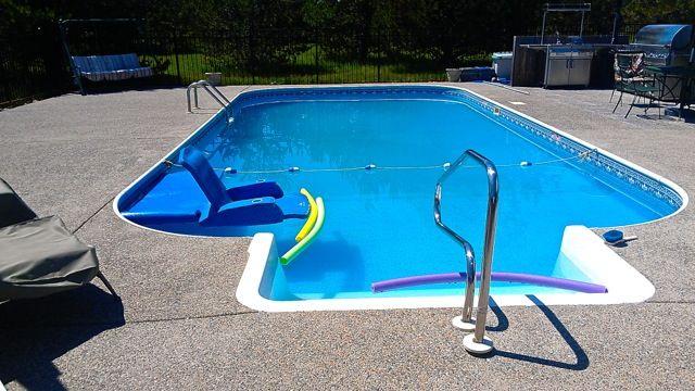 DIY in-ground pool