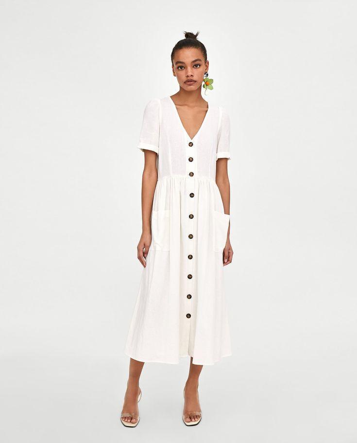 zara trajes mujer blanco