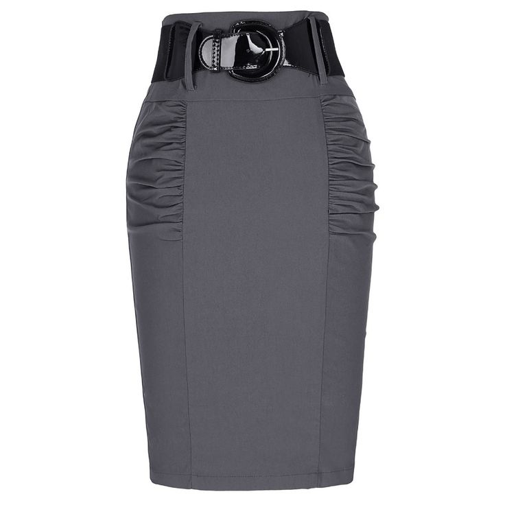 2017 New Sexy Pencil Skirts Womens Business Work Office Skirt With Belt High Waist Elastic Casual Bodycon Slim Fit Ladies Skirts //Price: $25 & FREE Shipping //     #dress #follow