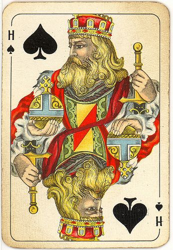 king playing cards - Google Search