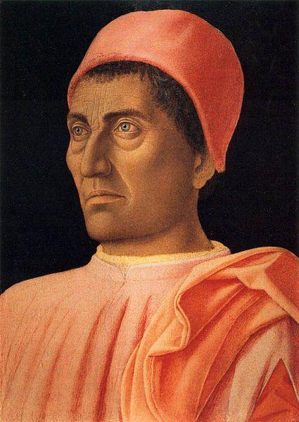 Andrea Mantegna - Portrait de Carlos de medicis - entre 1460 et 1466