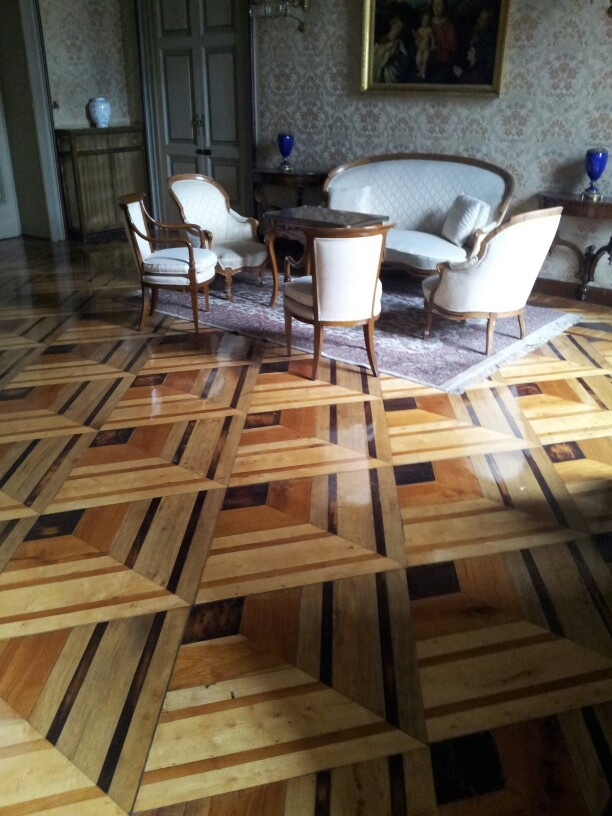 3d Flooring Wood Bergamo Prefettura Palace
