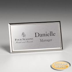 7 best name tag examples images on Pinterest