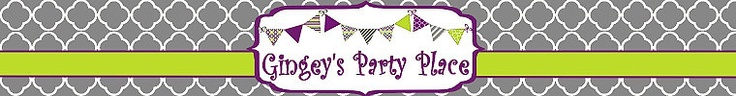 They have the cutest party packages here! Invitations, banners, cupcake toppers, water bottle labels, and more!  Lalaloopsie, Mustache, Mermaid, Mickey Mouse, and more!