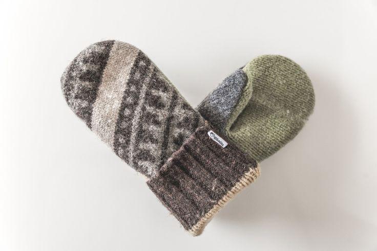 Women's Wool Sweater Mitten ♥ The Thaw