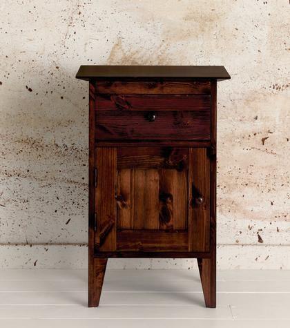 Bedroom Furniture > Bedside Cabinets > Shaker Pot Cupboard Left Hinge | Warren Evans