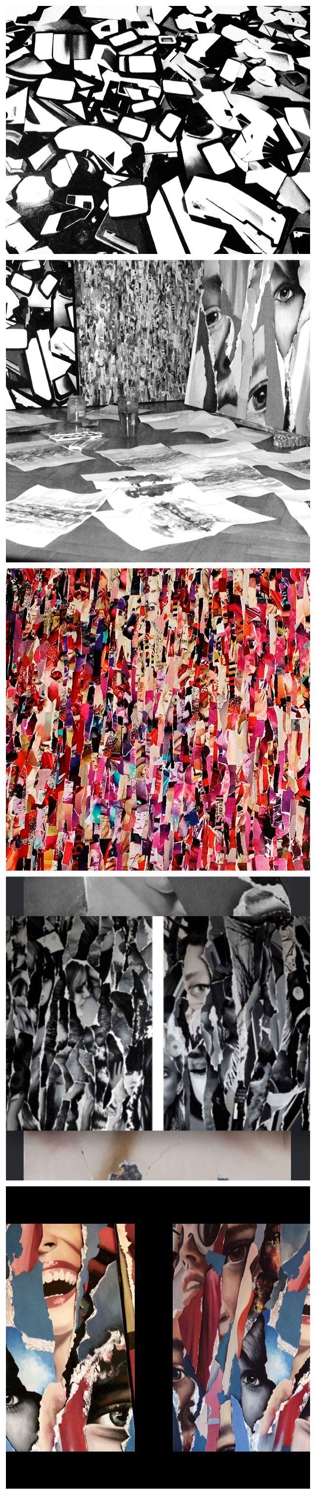 Zsuzsi Csiszér- paintings, studio, details, oilcanvas pieces, budapest