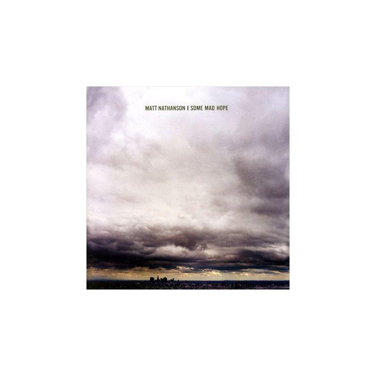 Matt Nathanson - Some Mad Hope (CD)
