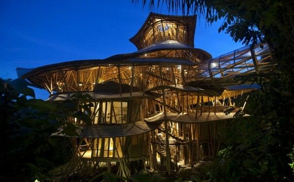 Sharma Springs | Bamboo Village in Bali, Indonesia.