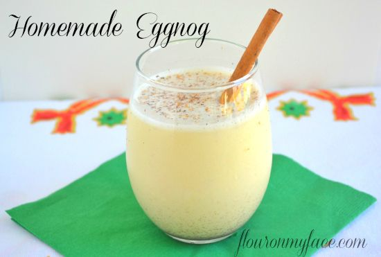 Holiday Drinks and Appetizers #SundaySupper Homemade Eggnog