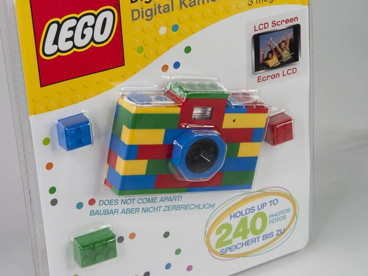 Ok, who wouldn't want one?! I'd have adored a Lego camera as a little girl--I'd still take one! :D