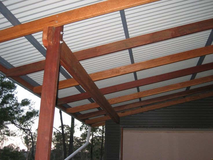 Steel Verandah Roofing Ideas Google Search Projects To