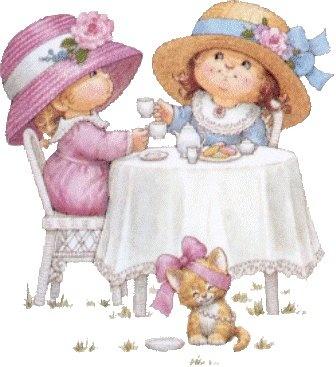 High tea friends