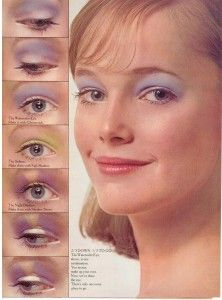 Musings from Marilyn » Yardley's Crash Course in Makeup 1972 ~ vintage eyeshadow designs, just in time for Halloween :)