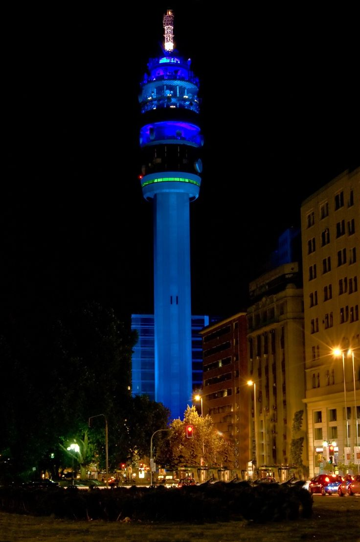 Santiago de Chile , Torre Entel