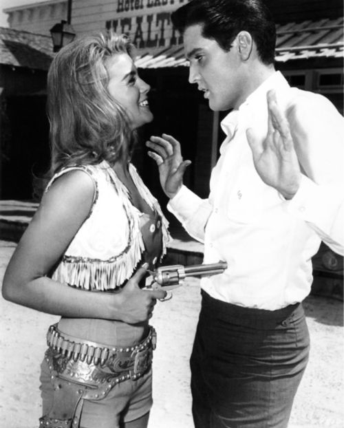 "Ann-Margaret and Elvis in ""Viva Las Vegas"" 1964"