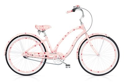 Electra pink pajama party!  This is the bike hubby got me for my birthday a few yrs ago!