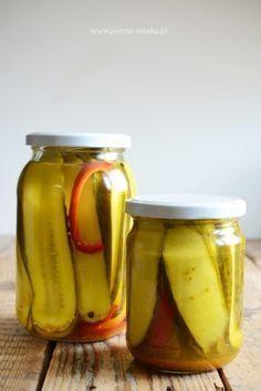 Ogórki curry - ogórki kanapkowe
