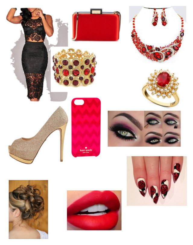 """""""Sweet Talker"""" by diane-ds ❤ liked on Polyvore featuring Lanvin, Kate Spade and R.H. Macy's & Co."""