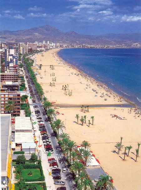 Playa de San Juan, Costa Blanca. Alicante**. Travel Spain.