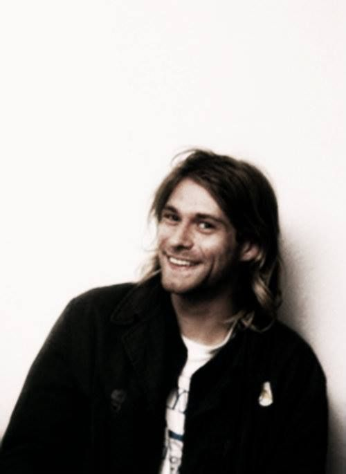 Kurt Cobain...  Beautiful beautiful person, gone too soon