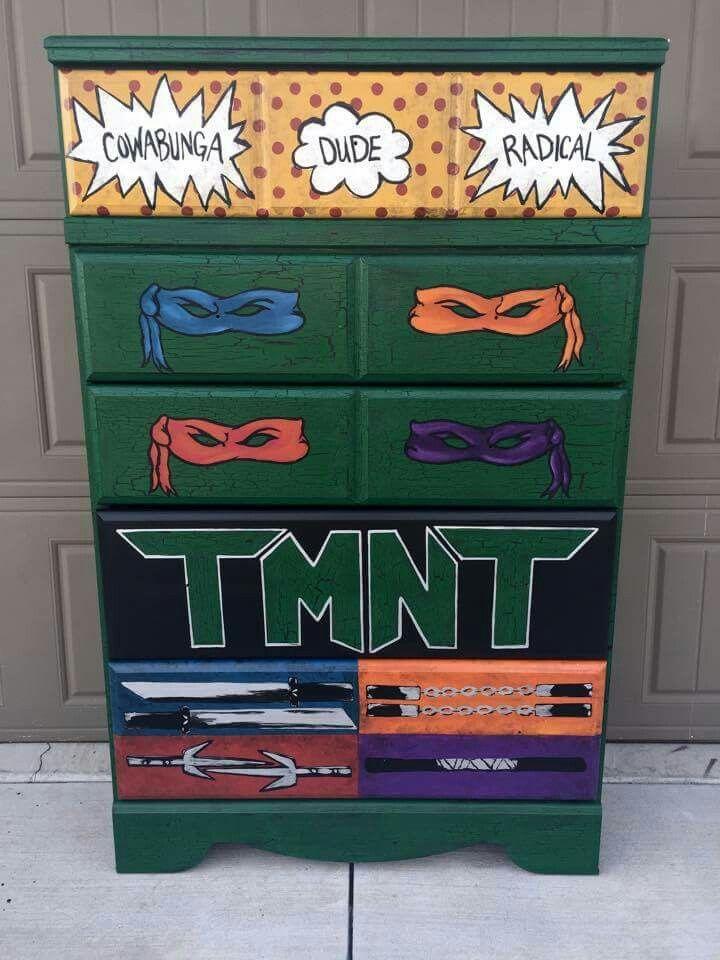 teenage mutant ninja turtles furniture