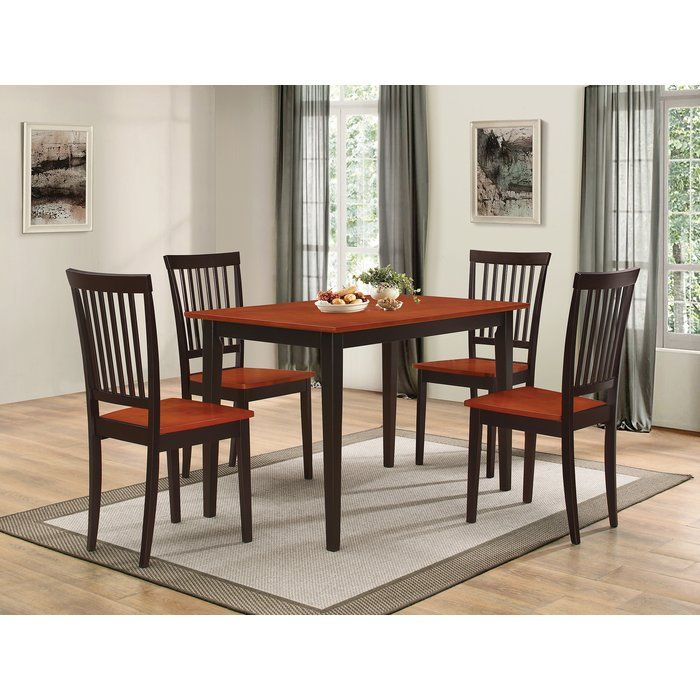 Holcomb 5 Piece Dining Set Dinette Sets Dining Room Sets Kitchen Dining Sets Wayfair dining table and chairs