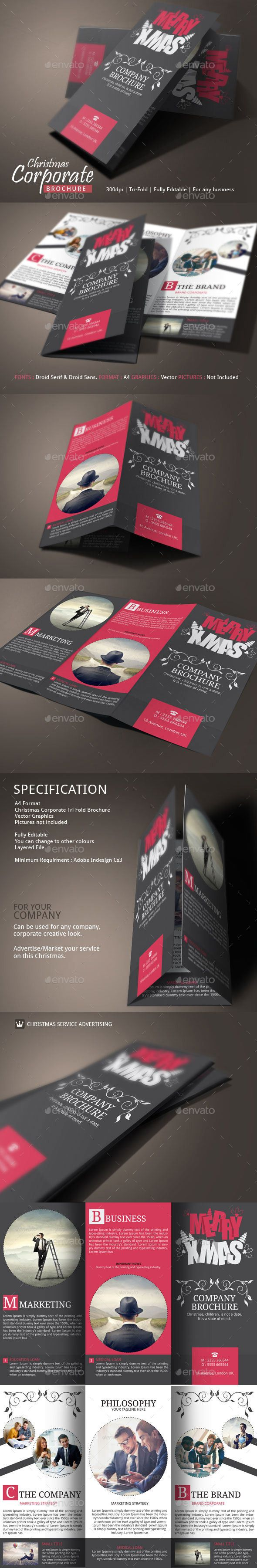 Christmas Brochure Examples - For corporate / Business use.  VIEW MORE HERE >> http://graphicriver.net/item/christmas-brochure-examples/9626612?ref=BloganKids