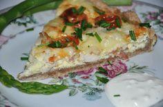 Miss Mette: Tærte med kylling, bacon og tomat