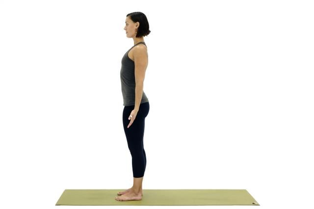 Yoga Exercises for Back Pain 3 - Hip Work For a Balanced Back: Mountain Pose - Tadasana for Back Pain