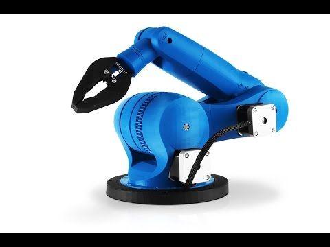 Zortrax M200 3D printer - 3D printed dancing robots - YouTube