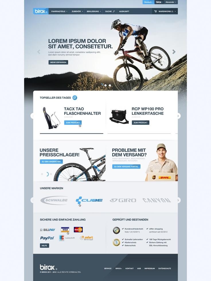 BIROX Online Store by ~cPl92 on deviantART