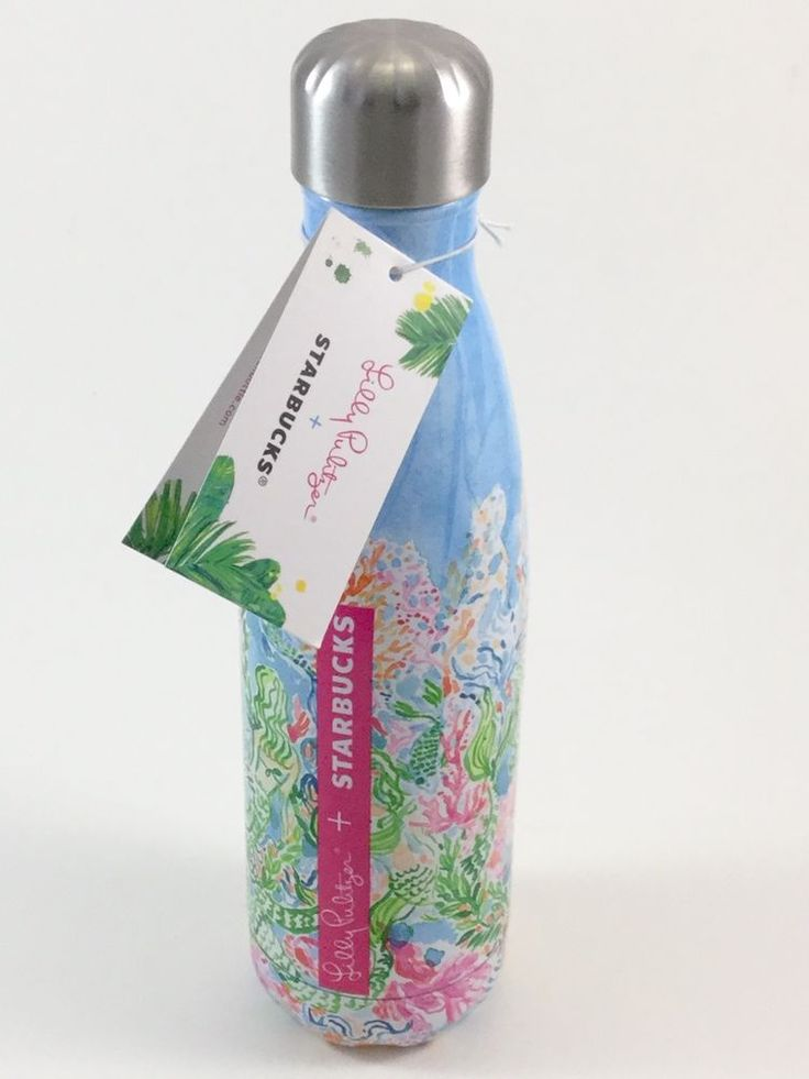 Lilly Pulitzer Starbucks Swell Mermaid Sirens Limited Edition Water Bottle 2017 #LillyPulitzer