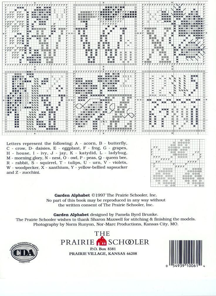 The Prairie Schooler Garden Alphabet (4/4)
