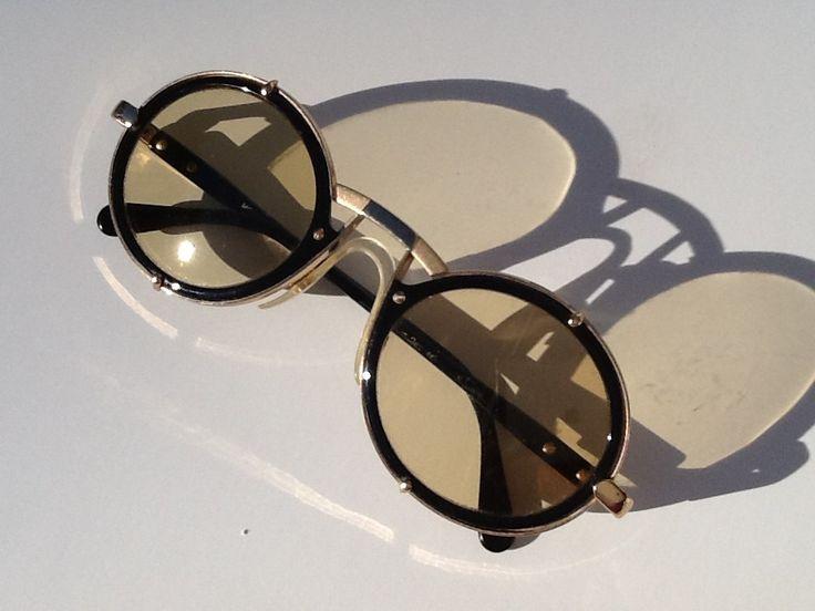 Vintage rare Cazal sunglasses from the 80's. $295.00, via Etsy.