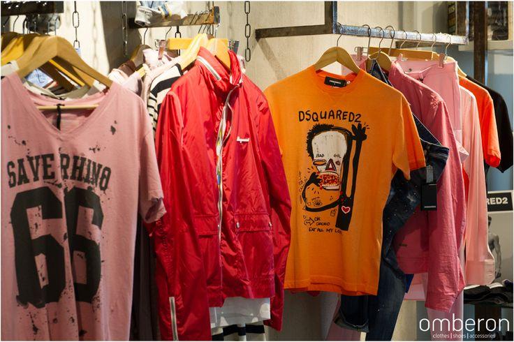 #mens #fashion #Omberon #tshirt #Dsquared2 #SS15 Photo © Vicky Lafazani
