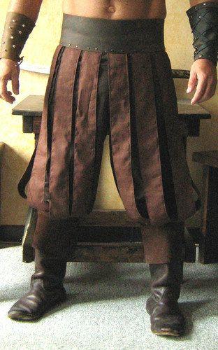Mittelalterliche keltische Wikinger Barbar von MorganasCollection