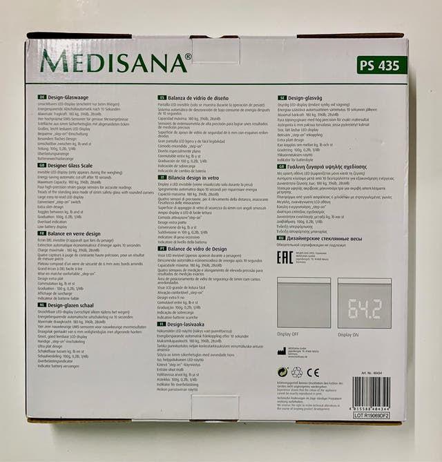 Medisana Ps 435 Bascula De Bano Digital De Segunda Mano Por 10