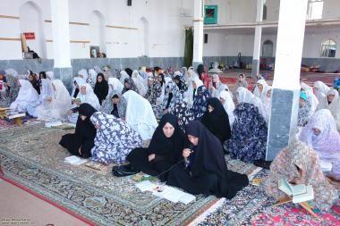Mujeres en el espacio sagrado- mujer musulmana