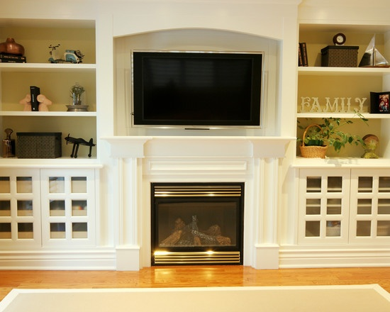 Best Fireplace BuiltIns Images On Pinterest Fireplace Built - Built in cabinets entertainment center design pictures remodel
