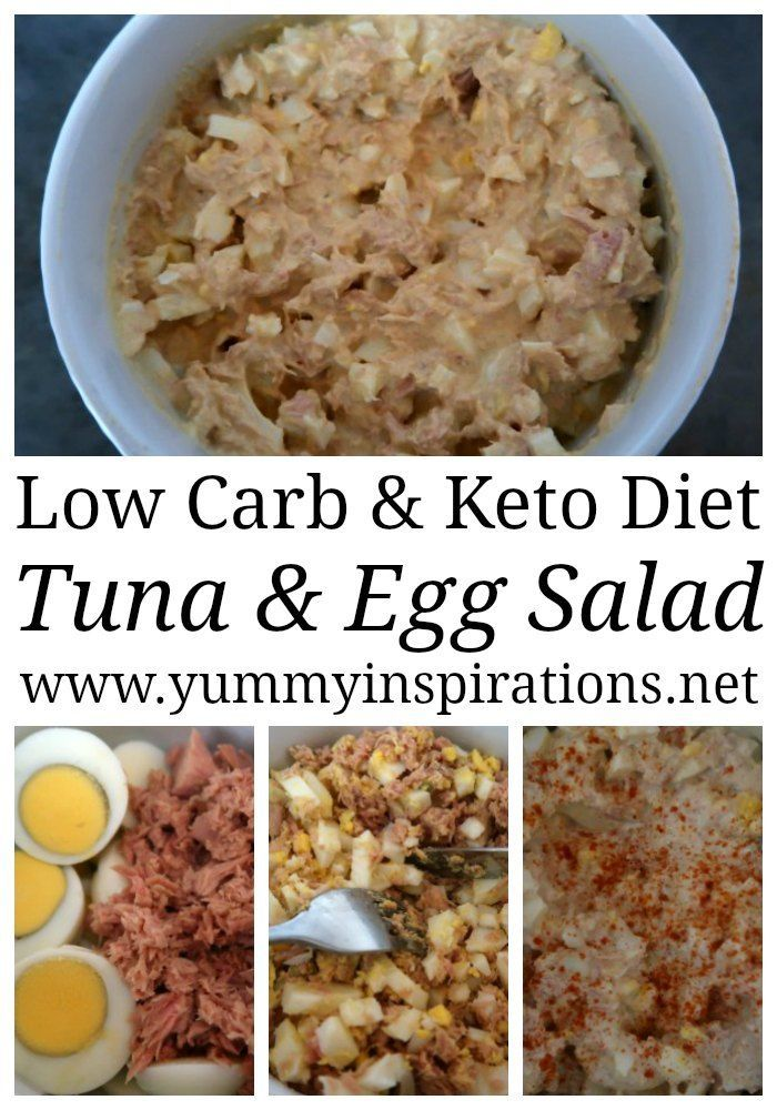 Keto Tuna and Egg Salad Recipe – Easy Low Carb Hig…