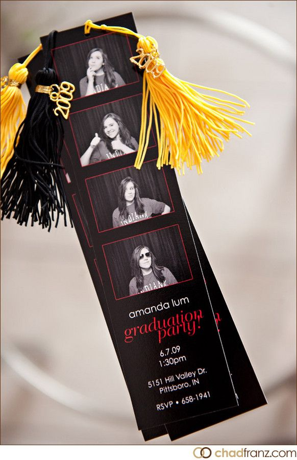 Graduation invites and bookmarks. Oh my gosh I love it..now if only I could take cute pics!