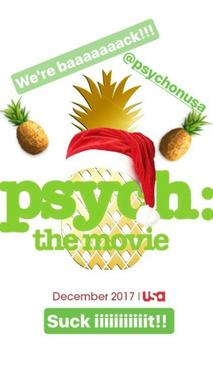 Psych the Movie!! December 2017