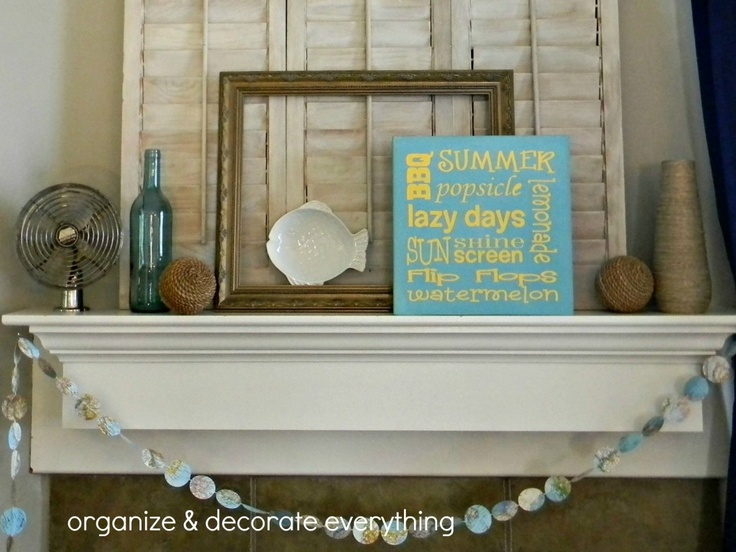 Summer Beach Mantle